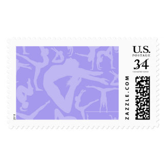 Gymnastics Silhouettes First Class Stamps