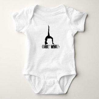 gymnastics skills girl baby bodysuit
