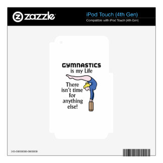 Gymnastics Decals For iPod Touch 4G