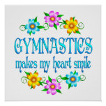 Gymnastics Smiles Print