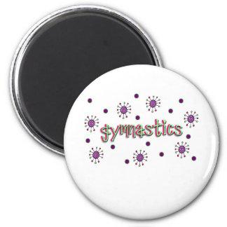 Gymnastics solar dots magnet