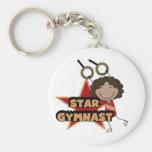GYMNASTICS - Star Gymnast Tshirts and Gift Key Chain