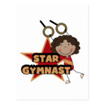 GYMNASTICS - Star Gymnast Tshirts and Gift Postcard