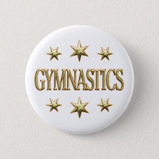 Gymnastics Stars Button