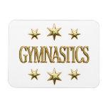 Gymnastics Stars Flexible Magnets