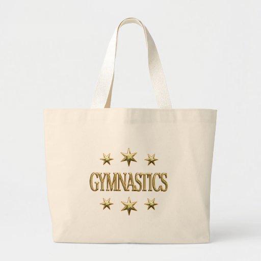 Gymnastics Stars Tote Bag