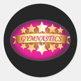 Gymnastics Stickers for Gymnasts