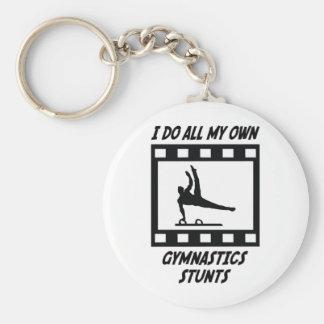 Gymnastics Stunts Keychain