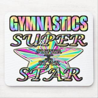 Gymnastics Superstar Mouse Pad