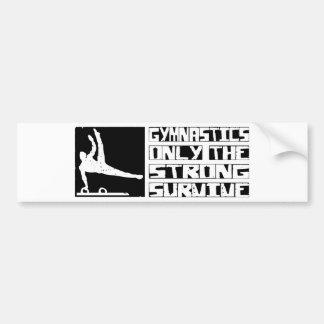 Gymnastics Survive Bumper Sticker