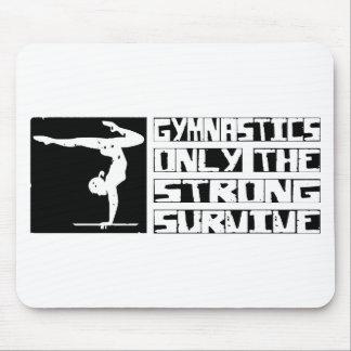 Gymnastics Survive Mouse Pad