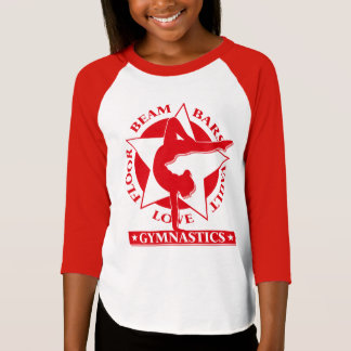 Gymnastics christmas t shirts shirt designs zazzle Gymnastics t shirt designs
