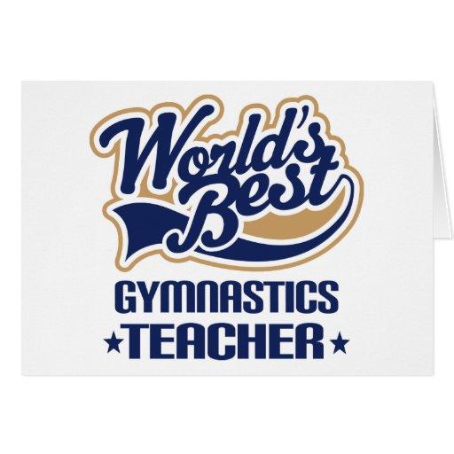 Gymnastics Teacher Gift Card