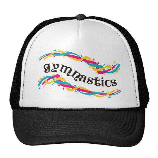 Gymnastics Twists Trucker Hat