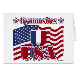 Gymnastics USA Card