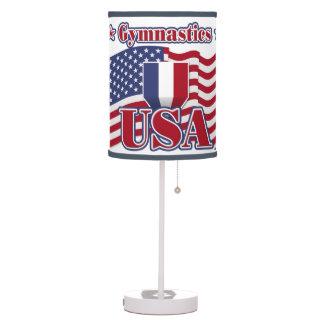 Gymnastics USA Table Lamp