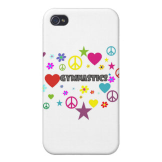 Gymnastics with Mixed Graphics iPhone 4/4S Covers