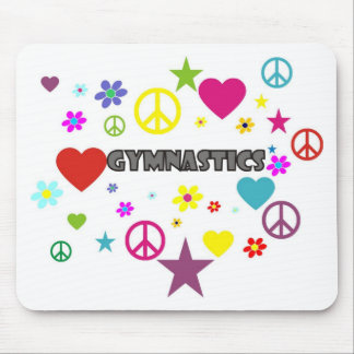 Gymnastics with Mixed Graphics Mouse Pad