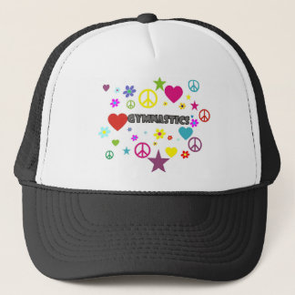 Gymnastics with Mixed Graphics Trucker Hat