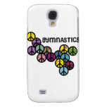 Gymnastics with Peace Sign Fill Samsung Galaxy S4 Cover