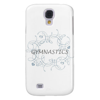 Gymnastics with Swirl Samsung S4 Case