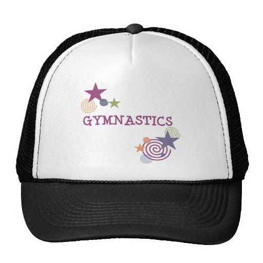 Gymnastics with Swirly Star Trucker Hats