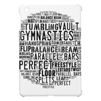 Gymnastics Word Cloud iPad Mini Covers