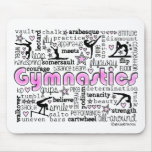Gymnastics Words 2 Mousepad Mouse Pad