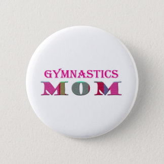 GymnasticsMom Pinback Button