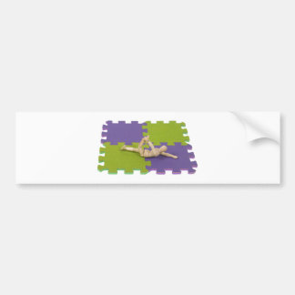 GymnasticsStretching112809 copy Bumper Sticker
