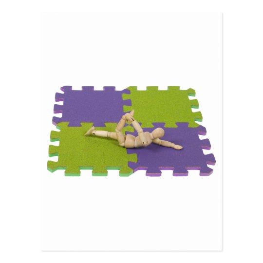 GymnasticsStretching112809 copy Postcard