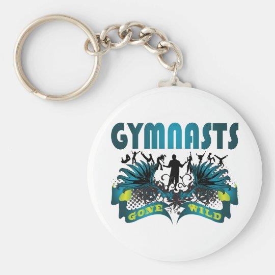 Gymnasts Gone Wild Keychain