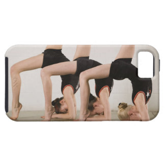 Gymnasts posing upside down iPhone SE/5/5s case