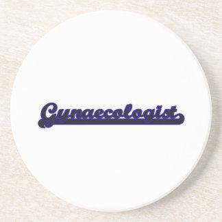 Gynaecologist Classic Job Design Beverage Coaster