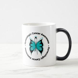 Gynecologic Cancer Awareness Butterfly Ribbon Mug