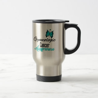 Gynecologic Cancer Awareness Butterfly v2 Mug