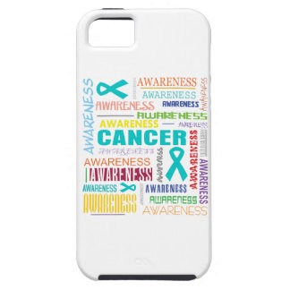 Gynecologic Cancer Awareness Collage iPhone 5 Case