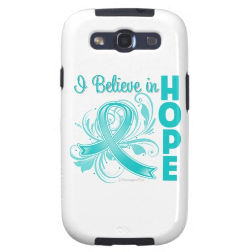 Gynecologic Cancer Awareness I Believe in Hope Samsung Galaxy S3 Case