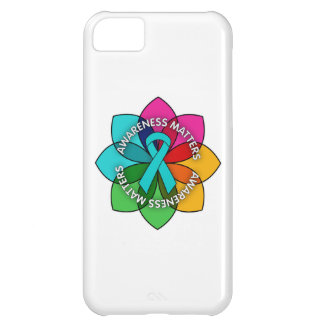 Gynecologic Cancer Awareness Matters Petals iPhone 5C Covers