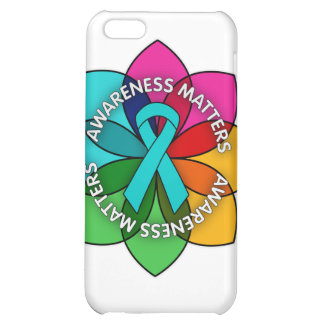 Gynecologic Cancer Awareness Matters Petals iPhone 5C Cases