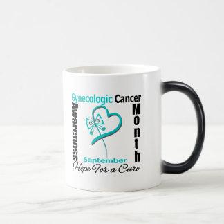 Gynecologic Cancer Awareness Month Butterfly Heart Coffee Mug