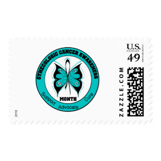 Gynecologic Cancer Awareness Month Butterfly v3 Postage
