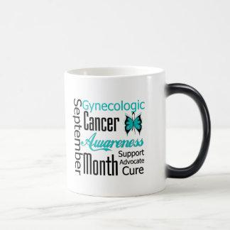 Gynecologic Cancer Awareness Month Collage Mug