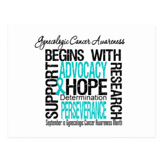Gynecologic Cancer Awareness Month Hope Post Card
