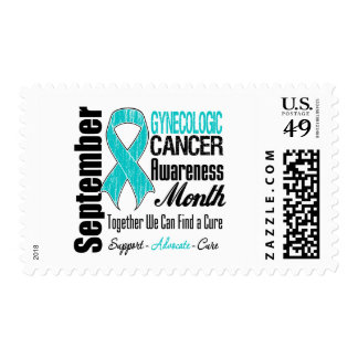 Gynecologic Cancer Awareness Month Support Cure Postage