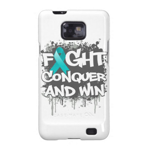 Gynecologic Cancer Fight Conquer and Win Galaxy SII Case
