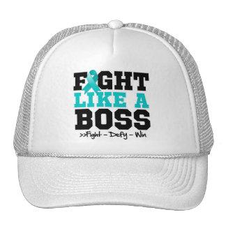 Gynecologic Cancer Fight Like a Boss Trucker Hat