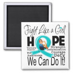Gynecologic Cancer Fight We Can Do It Magnet