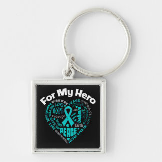 Gynecologic Cancer For My Hero Key Chains