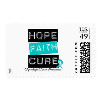 Gynecologic Cancer Hope FAITH Cure Stamp